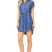 After Hours Chambray Dress