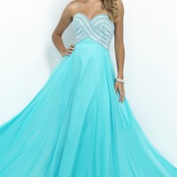 Strapless Sweetheart Gown by Blush by Alexia