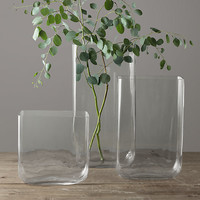 Grand Handblown Glass Vase