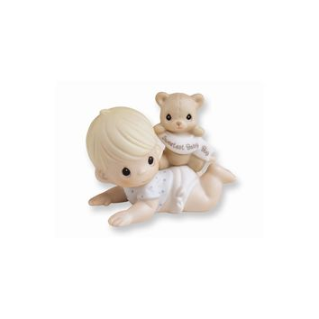 Precious Moments Porcelain Baby Boy Figurine