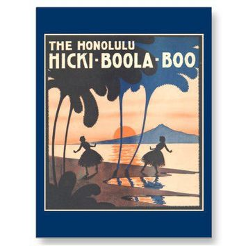 Hicki Boola Boo Postcard from Zazzle.com