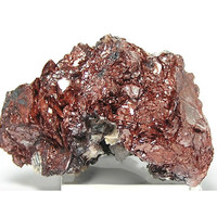 Red Mica Hematite included Muscovite Mineral Specimen from Georgia