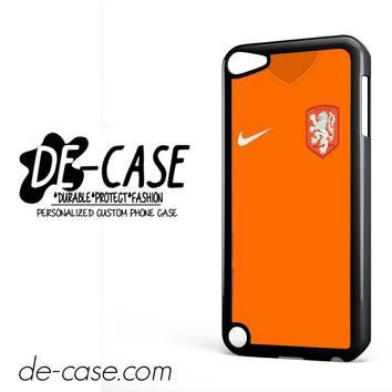 Holland Soccer Jersey For Ipod 5 Ipod Touch 5 Case Phone Case Gift Present YO