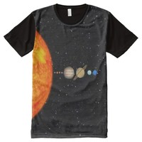 The Planets All-Over Print T-Shirt