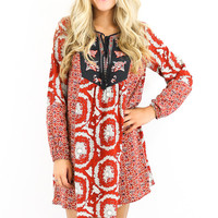 Front Page Demand Boho Hippie Peasant Dress