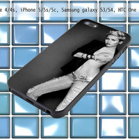 Milley Cyruz for iPhone 4/4S, iPhone 5S,iPhone 5C,samsung galaxy S3 i9300 / S4 i9500