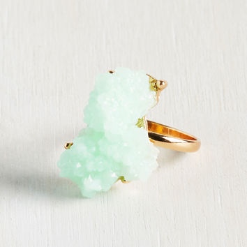 What a Druzy! Ring | Mod Retro Vintage Rings | ModCloth.com
