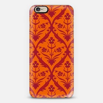 Tamra trellis ikat iPhone 6 case by Sharon Turner | Casetify