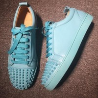 Cl Christian Louboutin Low Style #2077 Sneakers Fashion Shoes