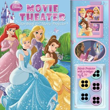Disney Princess: Movie Theater: Storybook & Movie Projector