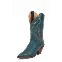 Women's Justin Color Cowhide Cowgirl Boots