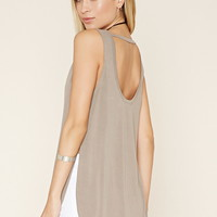 Side-Slit Longline Top