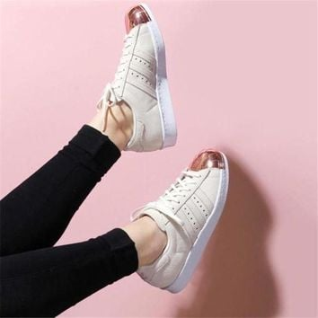 DCCKIJG Adidas' Fashion Women Shell-toe Flats Sneakers Sport Shoes