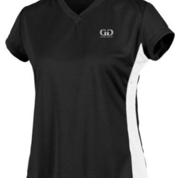 PT823PC Ladies Form Fit Workout Shirt with Side Panels-Moisture and Odor Control