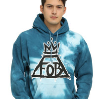Fall Out Boy Crown Logo Tie Dye Hoodie