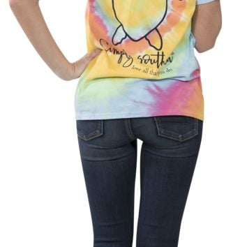 Simply Southern Tie Dye Youth Tee