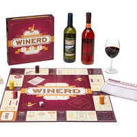 WINERD GAME | Board Game, Wine Trivia, Tamara Murphy, Wine Tutors, Wine tasting, New Winerd Game, Uncommon Goods | UncommonGoods