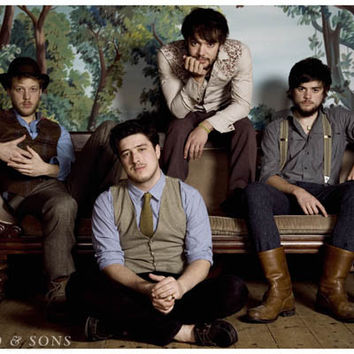 Mumford and Sons Band Portrait Poster 11x17