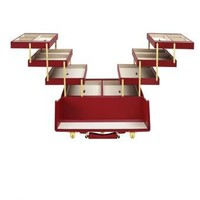 Cantilever Jewellery Box, Red