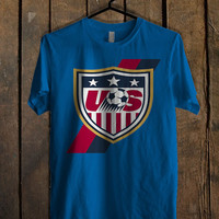 usa soccer Blue For Mens T Shirt and Womens T Shirt *76*