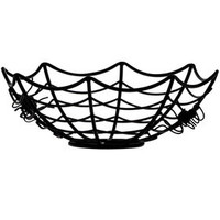Spider Black Wire Bowl 9-in.