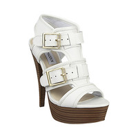 Steve Madden - CRITIKAL WHITE LEATHER