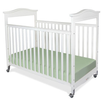 Foundations Biltmore Full Size Clearview Crib White - 1812120