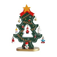 1PC Wooden Christmas tree Decoration Decoration Stereo Wooden Christmas Tree Christmas Gifts #30