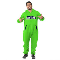 "Seattle Seahawks Team Official NFL Sweatsuit ""Green"""