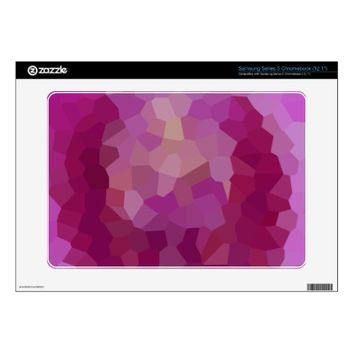 Colorful Abstract Star Apple Samsung Chromebook Skins