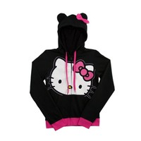 Womens Hello Kitty Hoodie, Black Pink, at Journeys Shoes