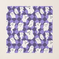 Halloween Ghosts Scarf