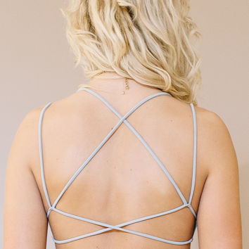 Moonbeam Bralette - Silver
