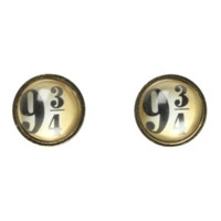 Harry Potter 9 3/4 Stud Earrings