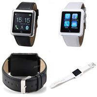 Free DHL 1.54 Inch U10 U Smart Bluetooth Watch Waterproof Bracelet Smart Wristwatch For Smartphones