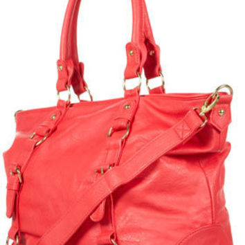 Slouchy Buckle Shopper Bag