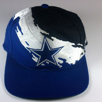 Dallas Cowboys Splash Logo Athletic Snapback