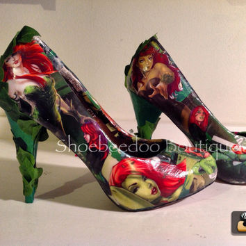 Poison Ivy Comic Heels