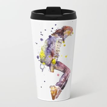 Pop Star Metal Travel Mug by Salome