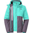 The North Face Women's Jackets & Vests INSULATED 3-IN-1 JACKETS WOMEN'S ALLABOUT TRICLIMATE® JACKET