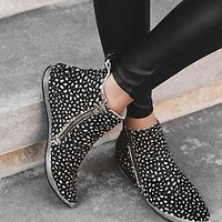 FP Collection Womens Melrose Ankle Boot