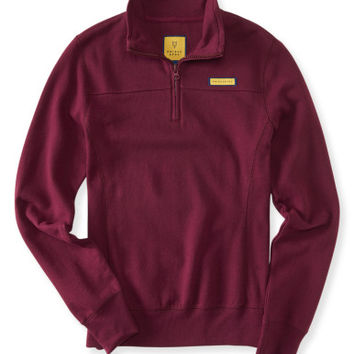 Prince & Fox Solid Half Zip Sweatshirt -