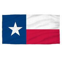 Texas Flag Beach Towel