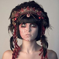 Red Tribal Goddess