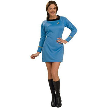 Women's Costume: Star Trek Classic Blue Dress | XS