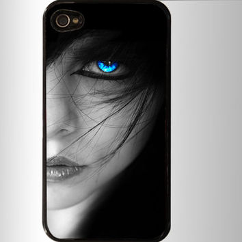 Blue eyes  iPhone 4 / 4S Case, iPhone 5 Case