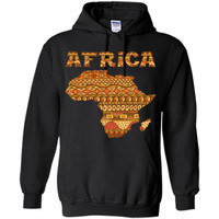 Adorable Africa Map Pattern 2017 T Shirt