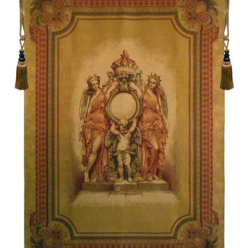 Guardians of the Crown Tapestry Wall Art Hanging