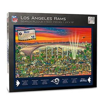 Los Angeles Rams Find Joe Journeyman 500-piece Puzzle