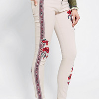 BDG Embroidered Twig Mid-Rise Jean